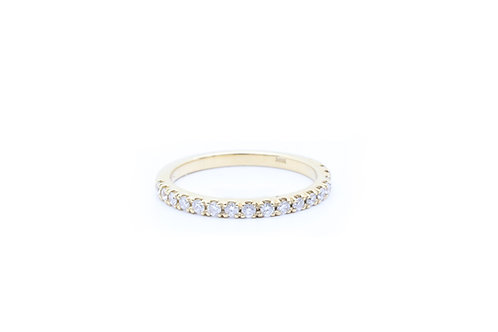 Round Prong Set Diamond Band