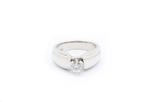 0.38 ct Diamond Solitaire Engagement Ring