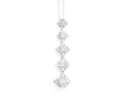 Baguette Journey Necklace