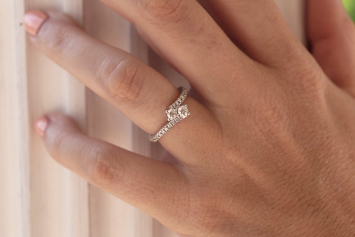 "0.75ct Two Stone ""Ever Us"" Ring"