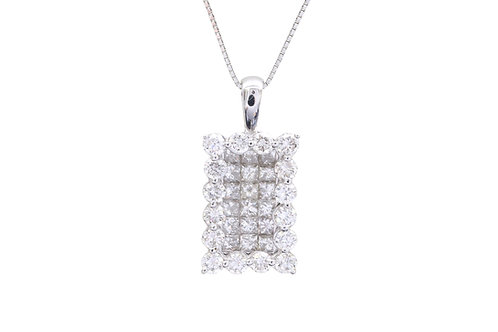 Invisible Diamond Necklace