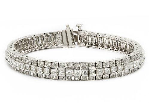 Vintage Style Tennis Bracelet