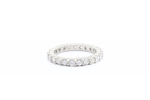 Platinum Diamond Eternity Band - 1.50ct tw
