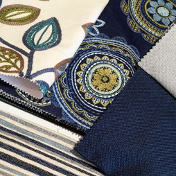 Selection of stunning embroidered fabrics
