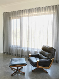 S-Fold Sheer curtains