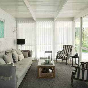 S-Fold Sheer Curtains