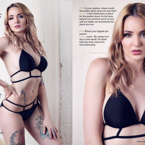 Photographer: Matt Barnes Photograhy  Model: Sylvia Gold  Makeup: Amie Lyver