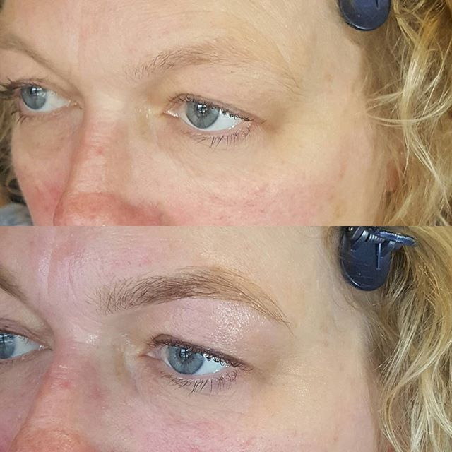 Natural brow transformation_Email me for bookings admin_labelleamienz