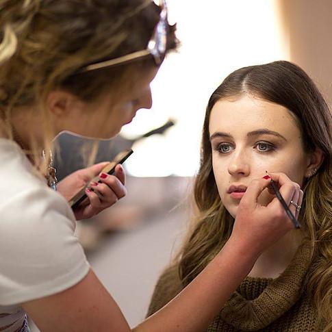 BTS Photographer: Matt Barnes Photographer  Model: Islay Payne Makeup: Amie Lyver