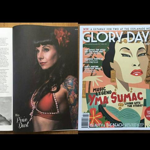 Glory Days Magazine Photographer: Matt Barnes Photography  Hair: Amie Lyver  Makeup: Amie Lyver