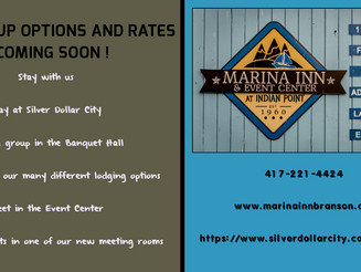 2019 Event Center Reservations Booking Now at Marina Inn, Branson MO