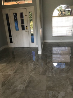 Tile Floor Installation