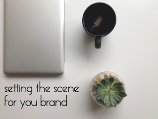 Creative marketing illustration