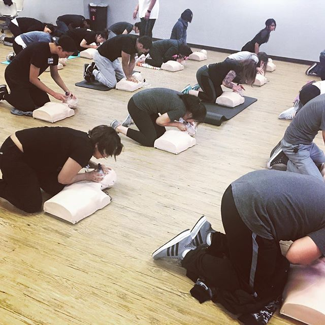 Being trained in CPR and first aid can be invaluable when someone is in serious medical distress
