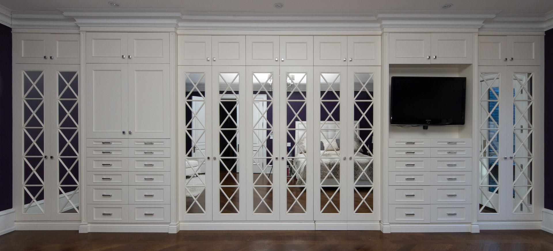 Custom White closet