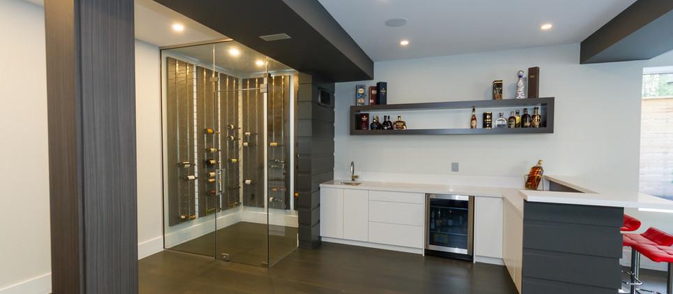 Grey modern Bar