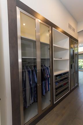 Left Side of Walk in Closet