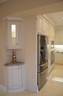 Fridge Wall Traditional Kitchen