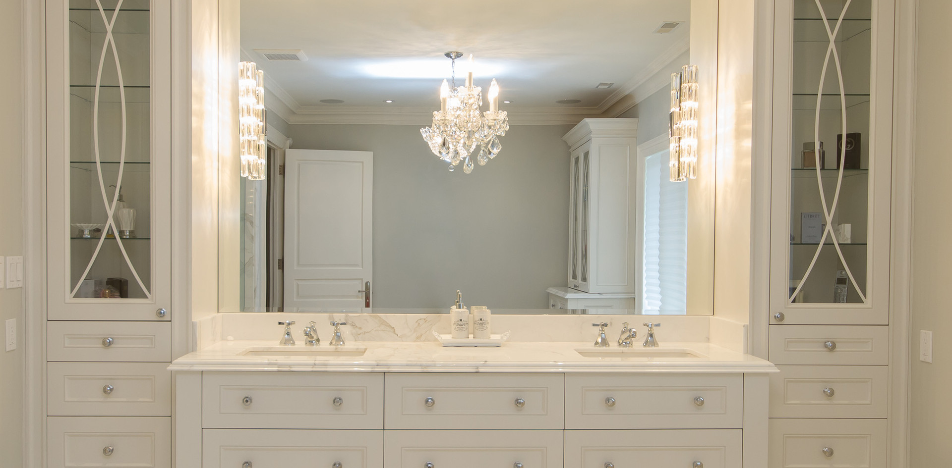 Double Sink Modern Vanity