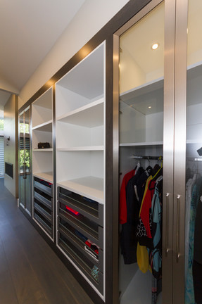 Right Side of Walk in Closet
