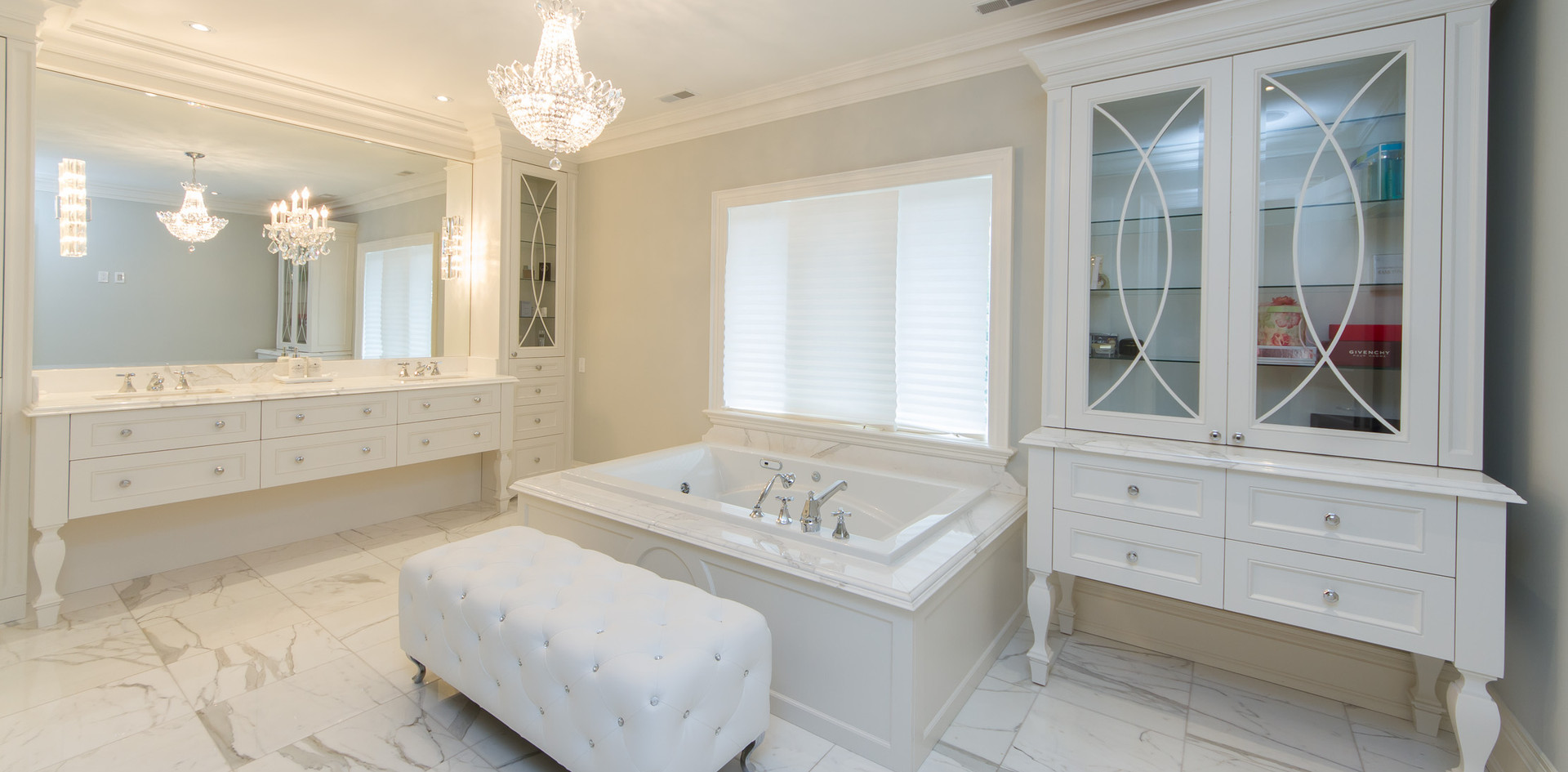White Modern Bathroom