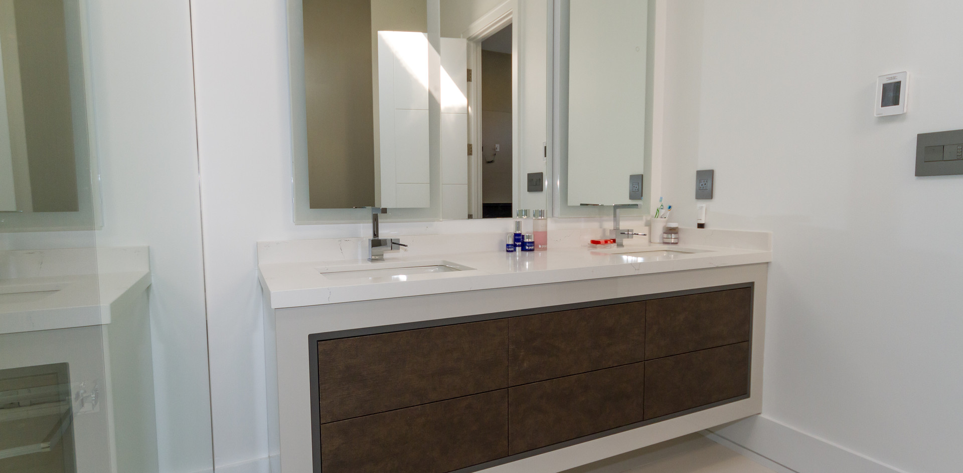 Two toned Bathroom Vanity