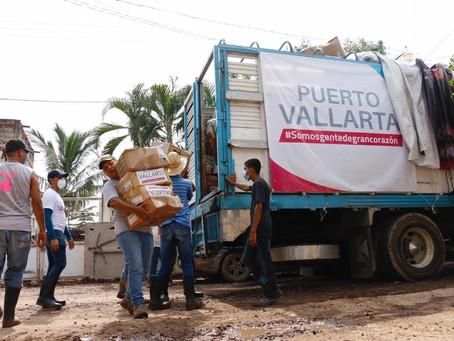 Envía DIF más de 10 toneladas de acopio a Nayarit y Sinaloa