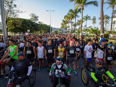 II Carrera Leones Negros en Puerto Vallarta rompe récord de asistencia
