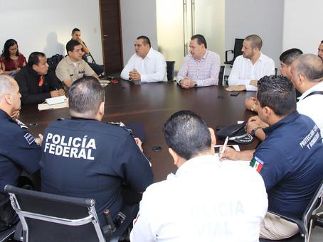 Coordinan autoridades operativo vacacional 'Blanca Navidad'