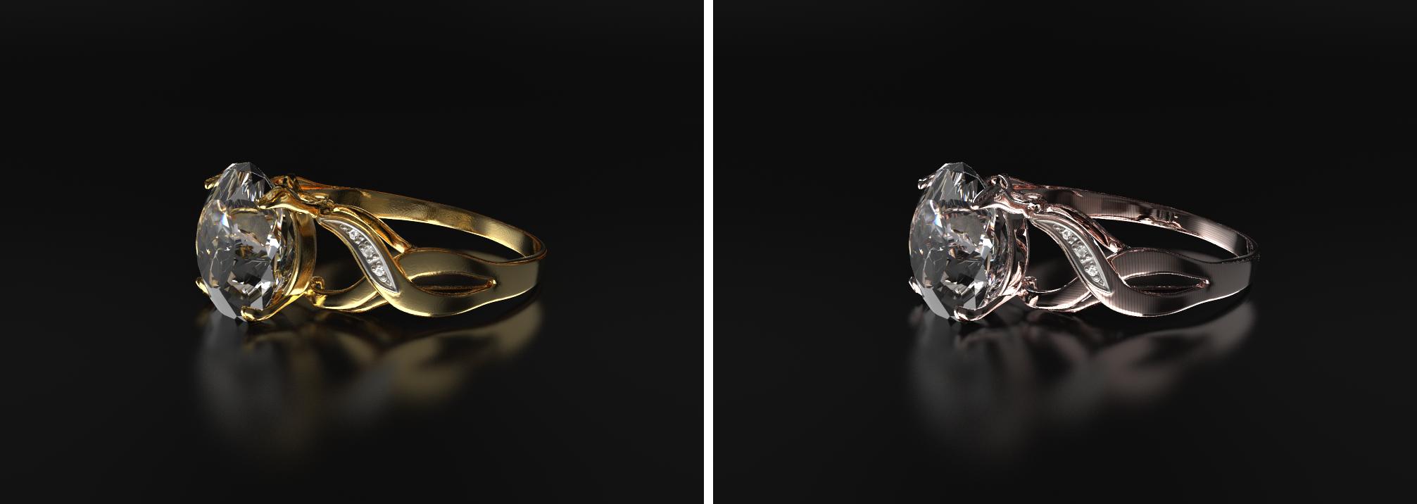 Vizualizacija prstana