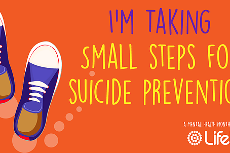 Small Steps for Suicide Prevention