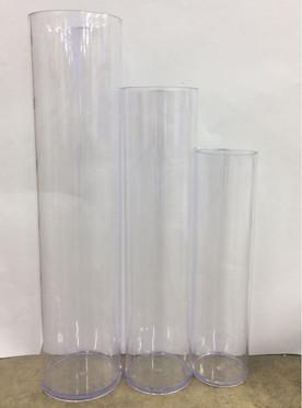 Cylinder Vase 3 Pc