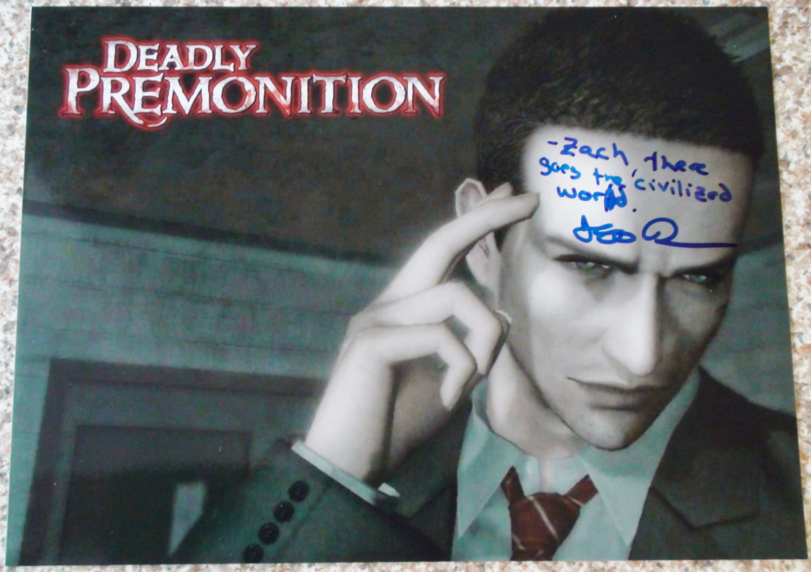 Deadly Premonition - Jeff Kramer