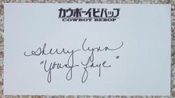 Cowboy Bebop - Sherry Lynn