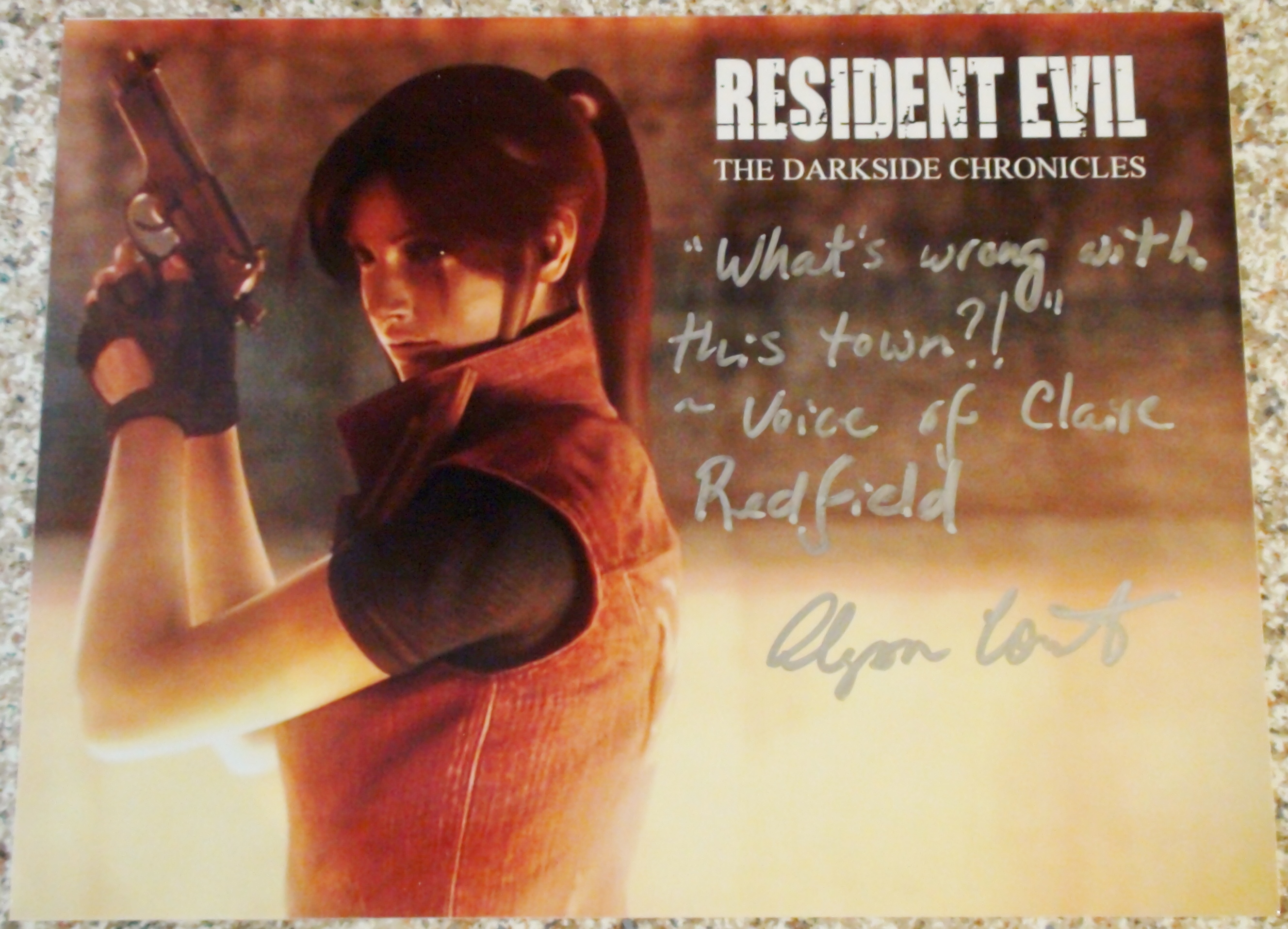 RE Darkside Chronicle - Alyson Court