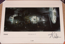 Thief Lithograph