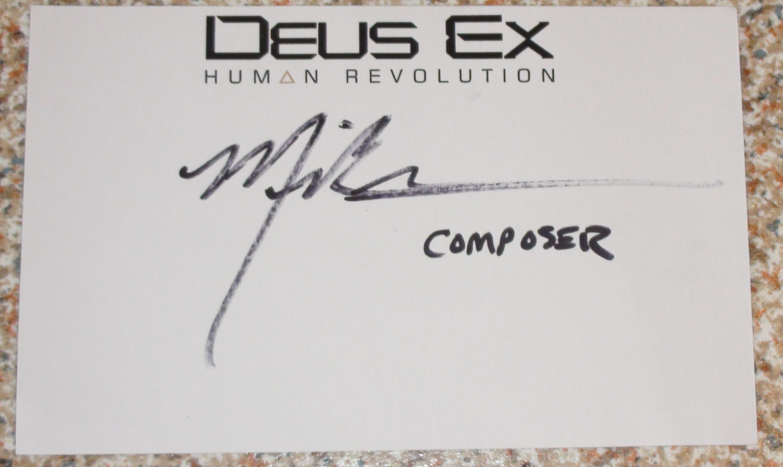 Deus Ex - Michael McCann