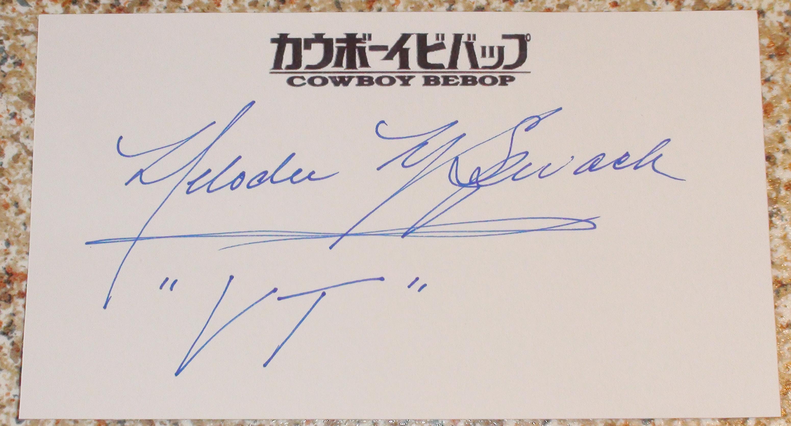 Cowboy Bebop - Melodee Spevack
