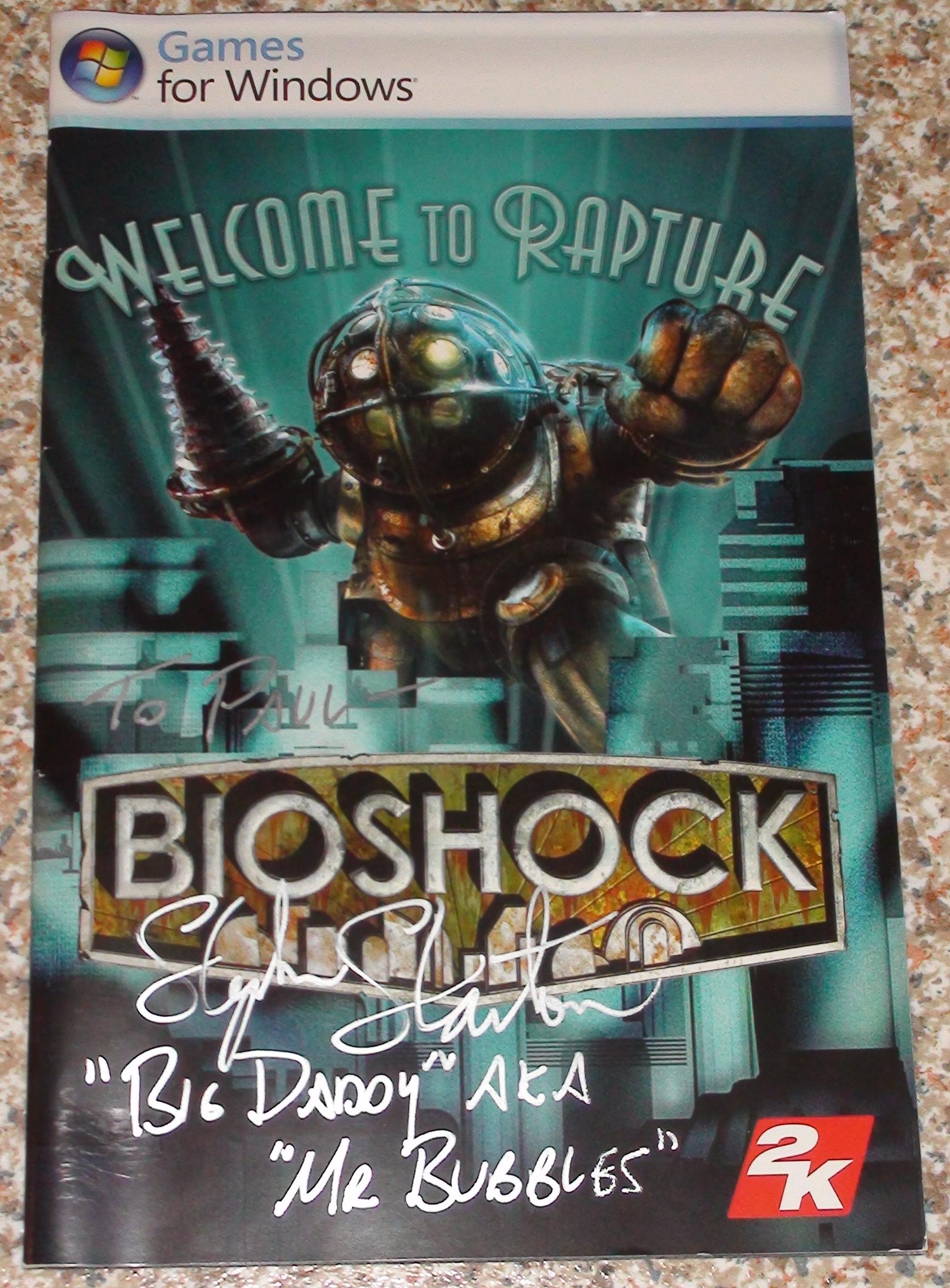 Bioshock - Stephen Stanton