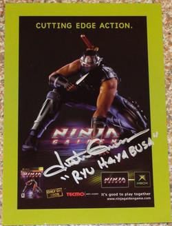 Ninja Gaiden - Justin Gross