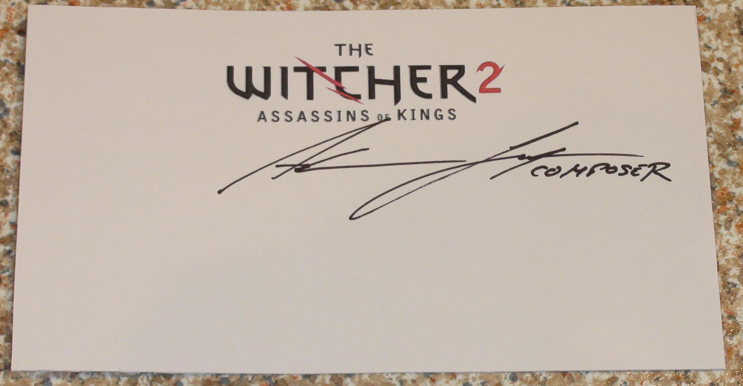 Witcher 2 - Adam Skorupa