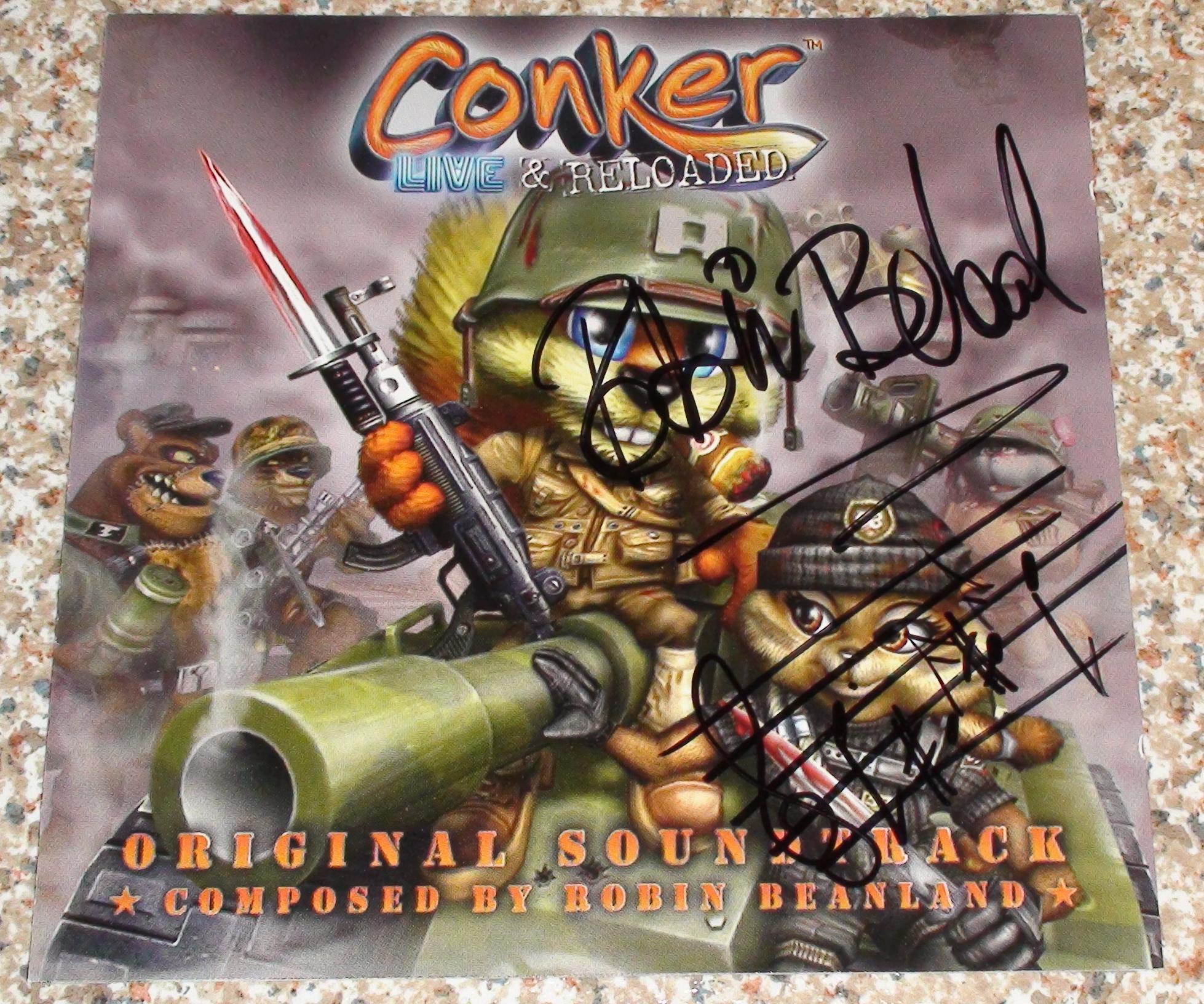 Conker OST- Robin Beanland