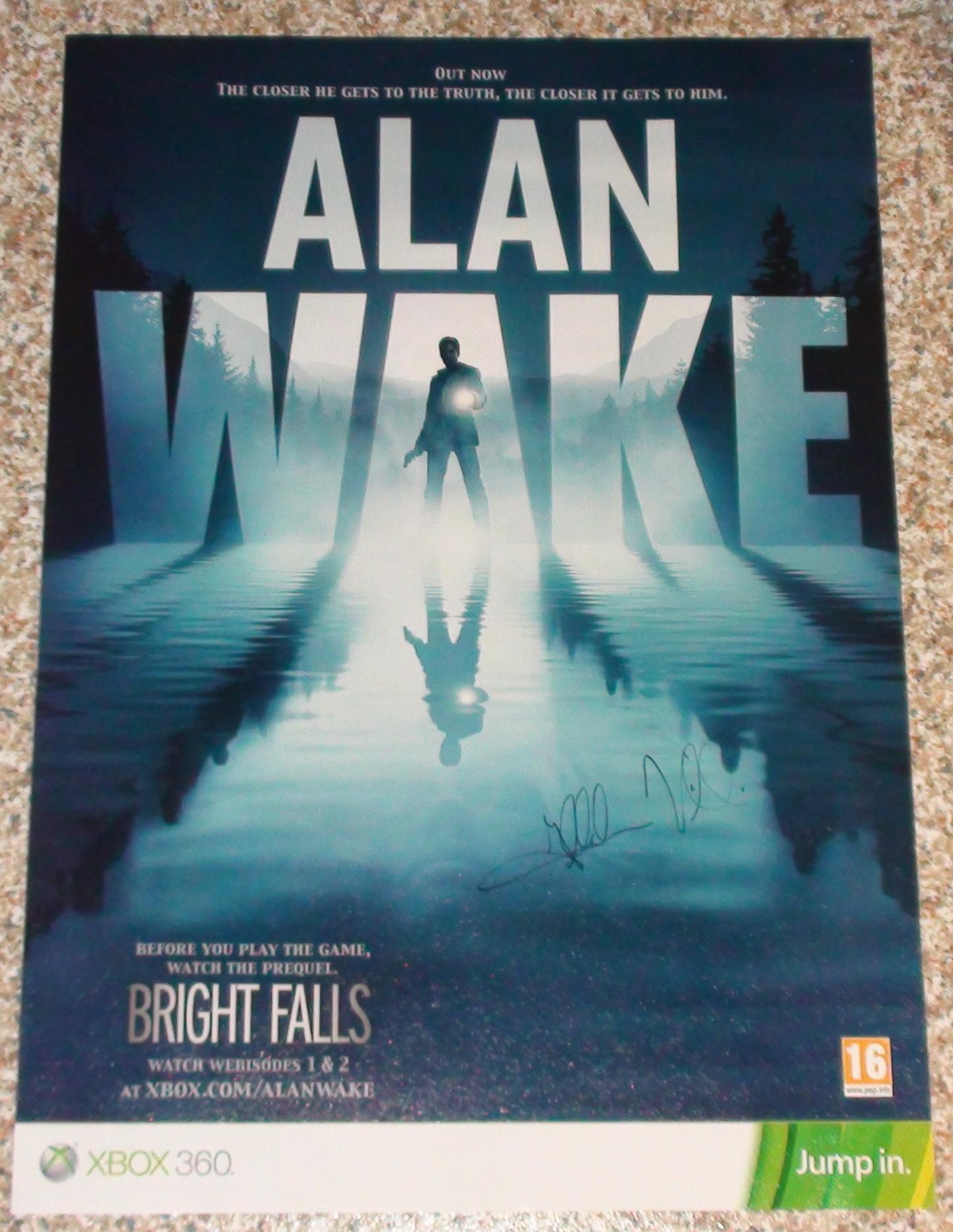 """Ilkka Villi """"Alan Wake"""" 1/2"""