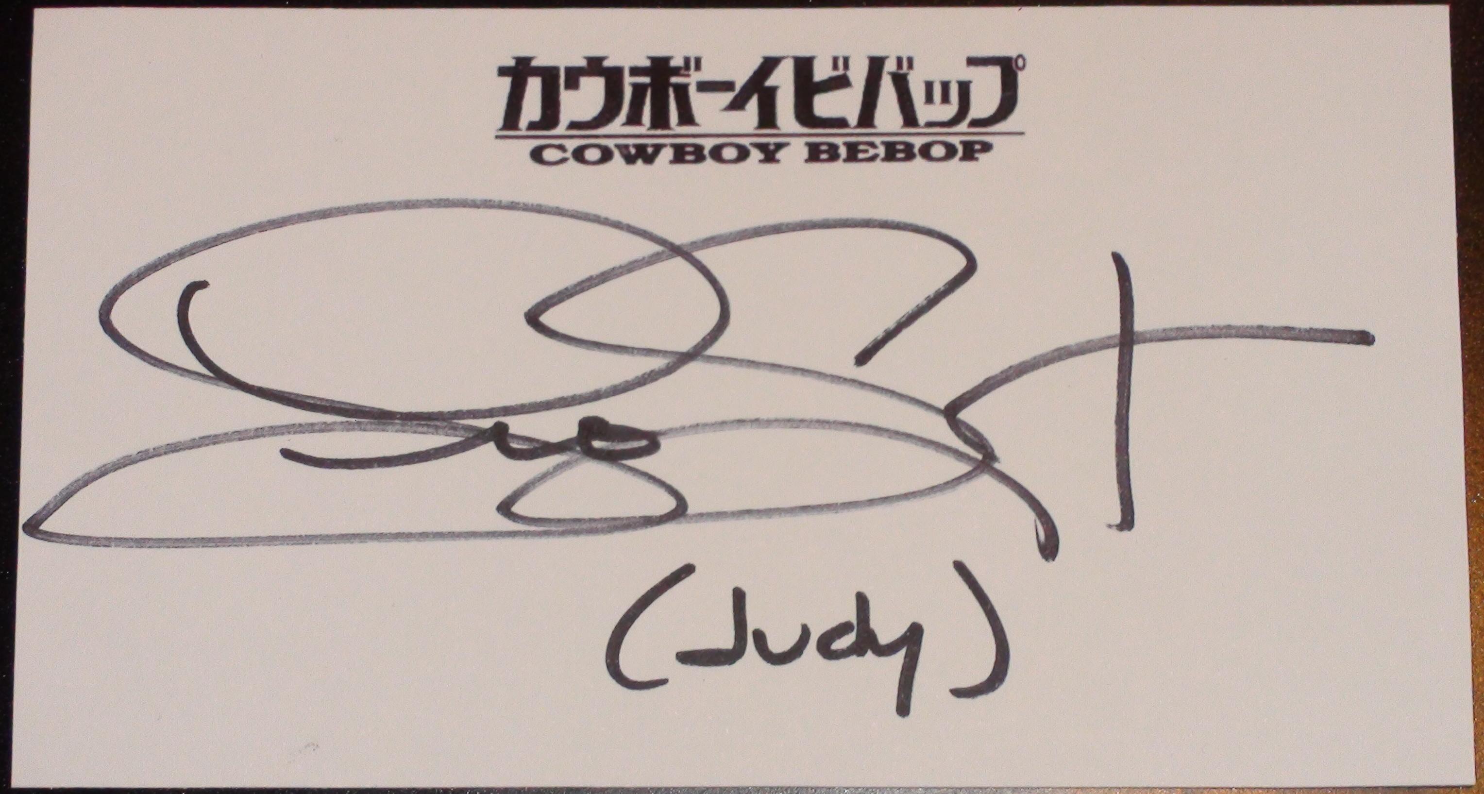 Cowboy Bebop - Lia Sargent