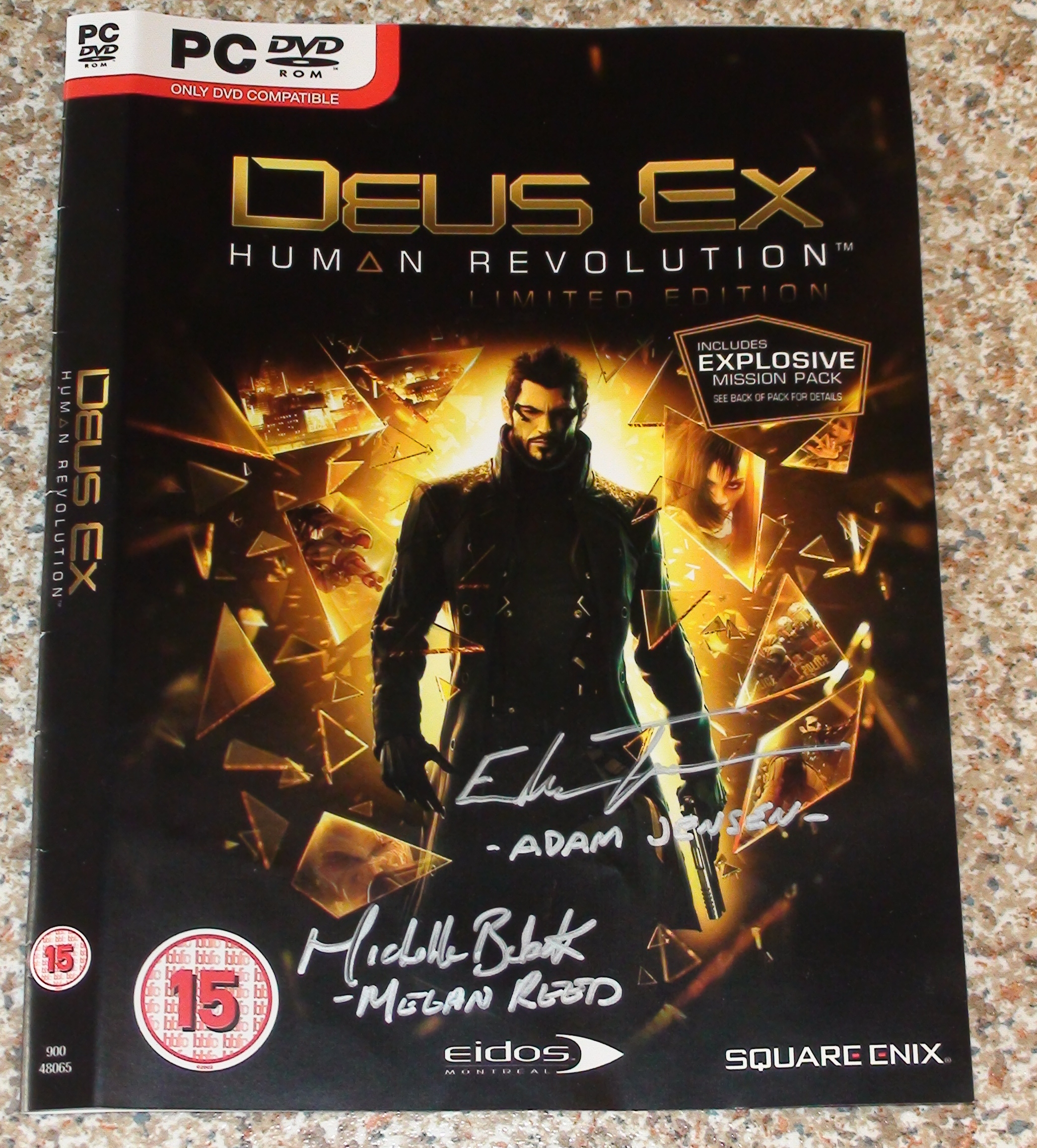 Deus Ex - Toufexis + Boback