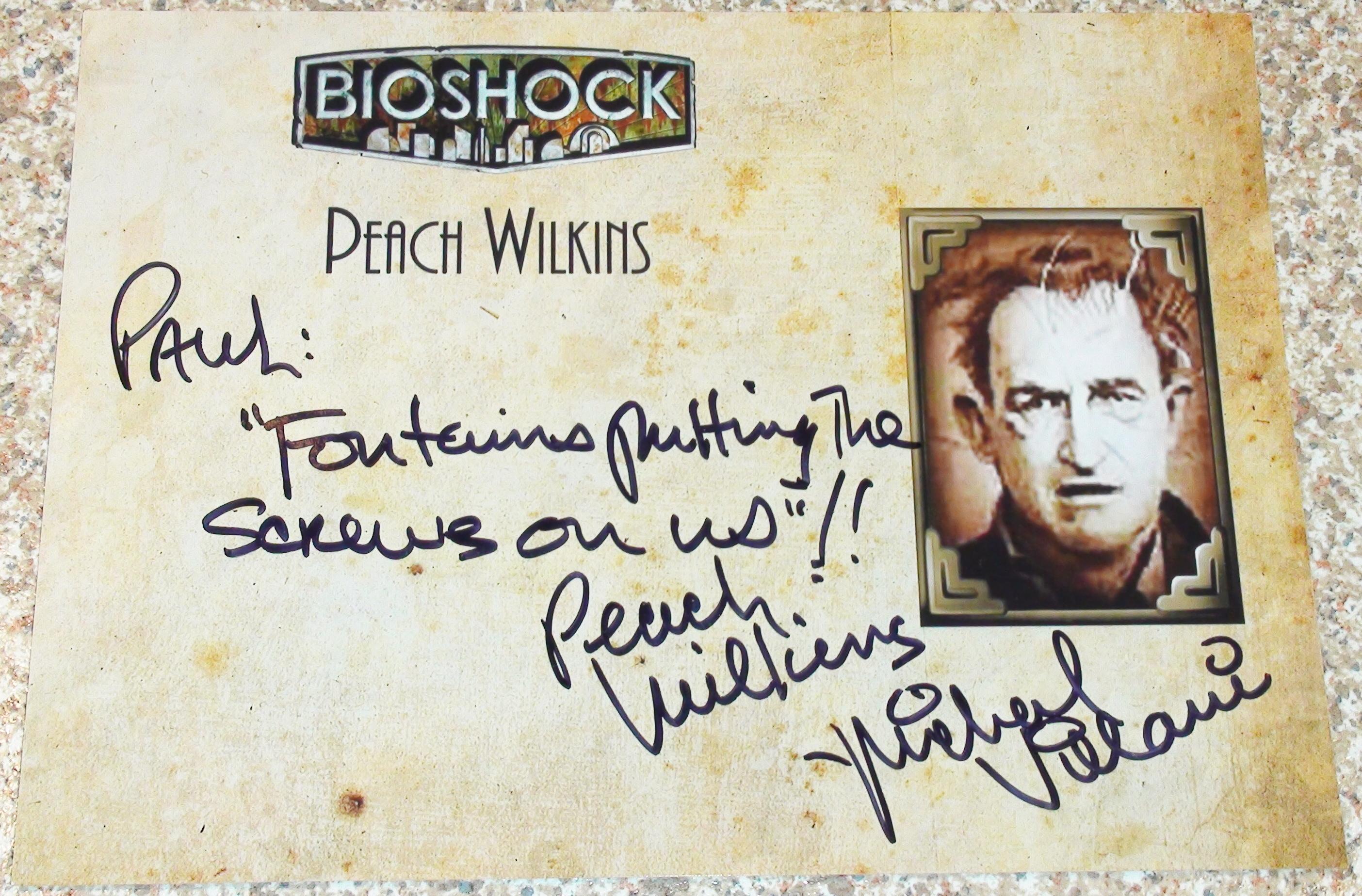Bioshock - Mike Villani