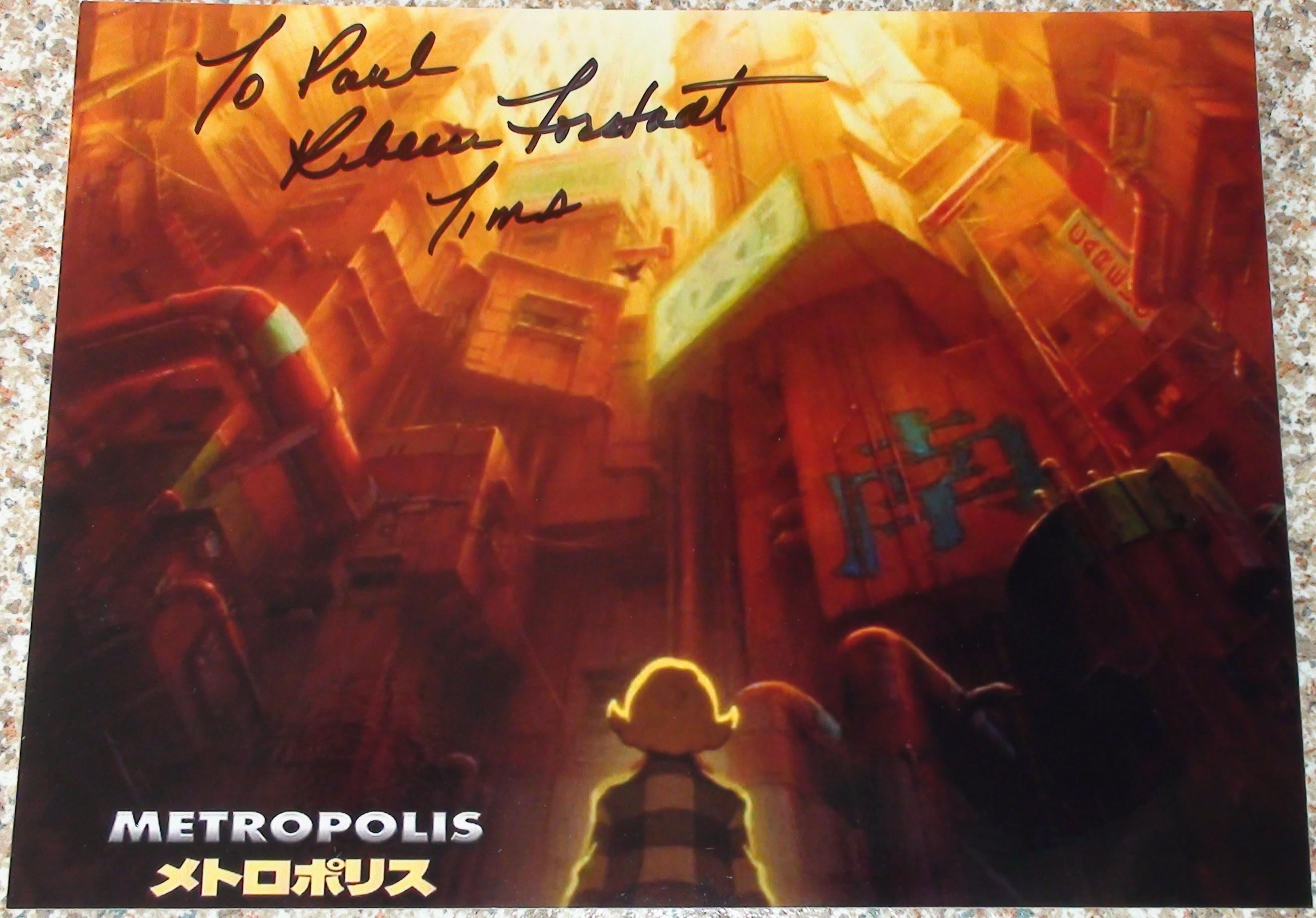 Metropolis - Rebecca Forstadt