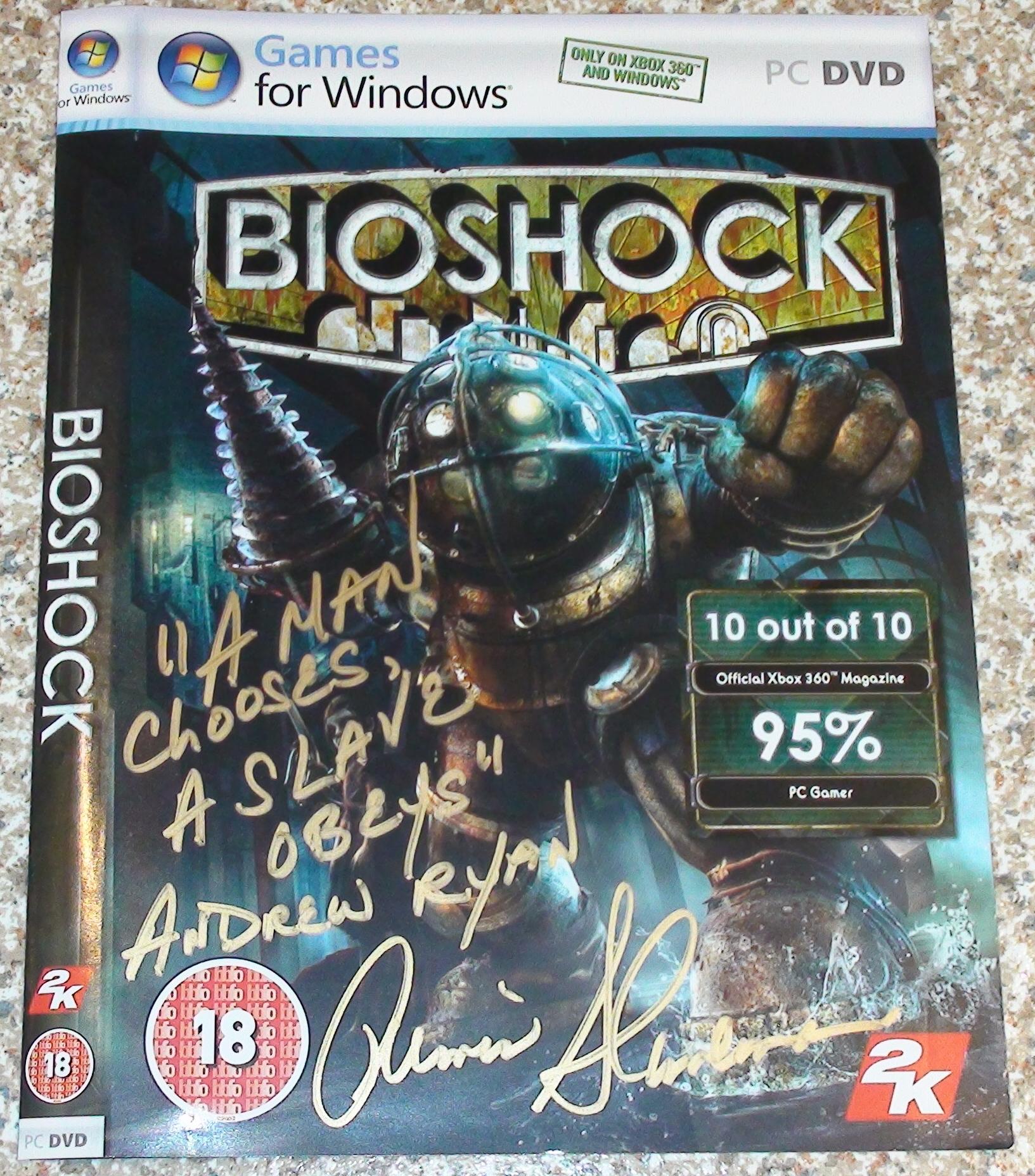 Bioshock - Armin Shimerman