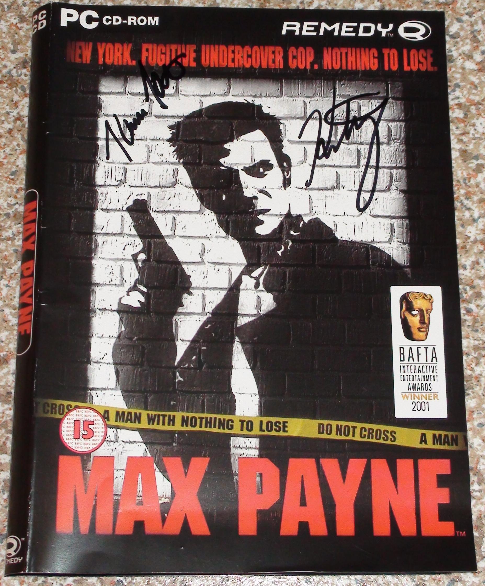 Max Payne - Hatakka + Kajasto
