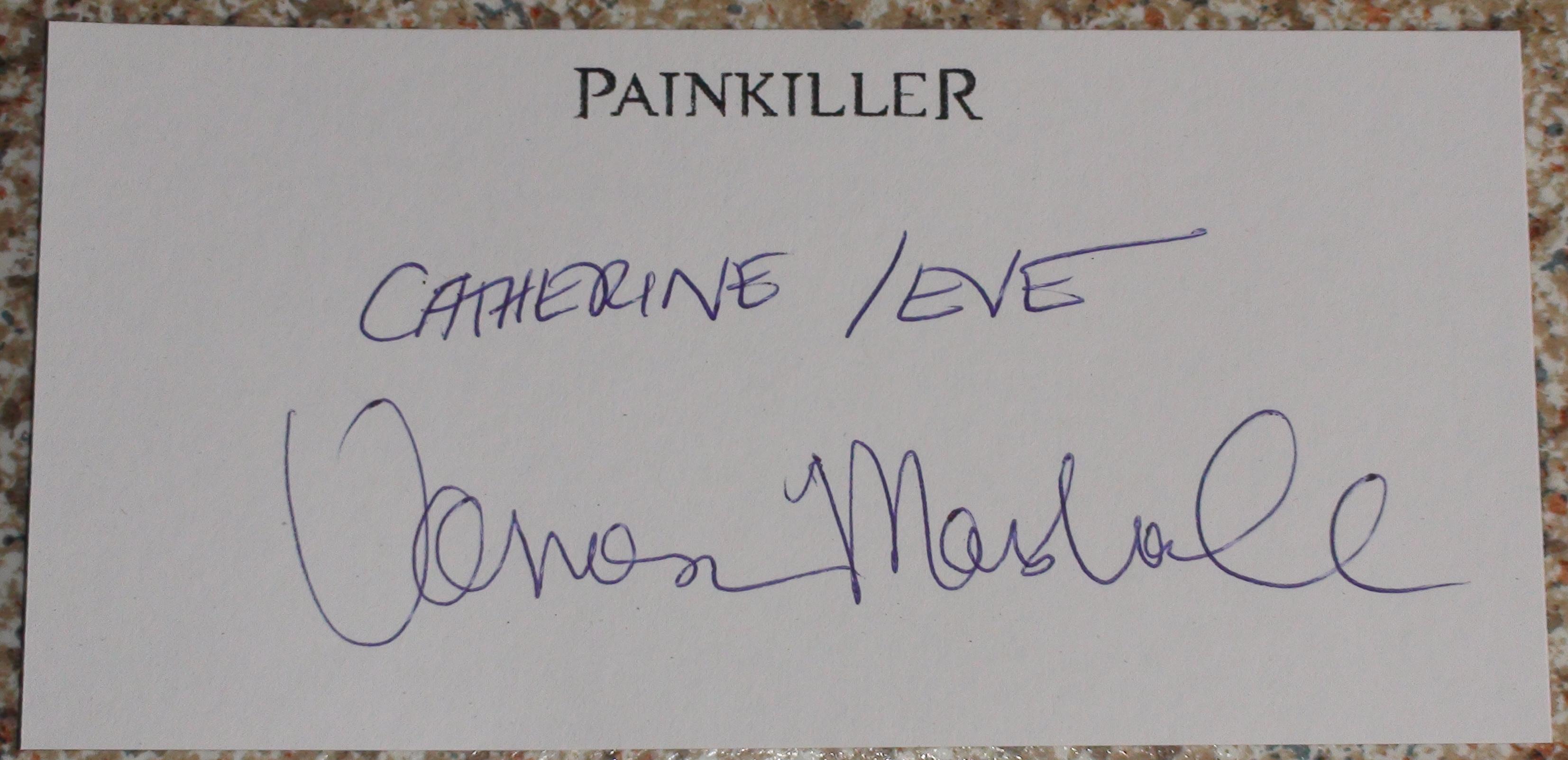 Painkiller - Vanessa Marshall